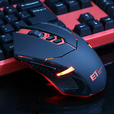 2000DPI 2.4G Wireless Professional Red LED Light Gaming Mouse Mice for PC Laptop