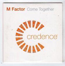 (FY975) M Factor, Come Together - 2003 DJ CD