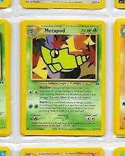 (o) METAPOD 42/75 - POKEMON – NEO DISCOVERY UNLIMITED