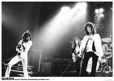 QUEEN BAND MUSIC (LAMINATED) POSTER (59x84cm) MERCURY NEW LICENSED