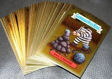 2003 GARBAGE PAIL KIDS ANS3 COMPLETE GOLD FOIL SET 50 CARDS RARE GPK 18TH SERIES