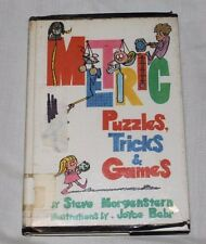 Metric Puzzles, Tricks and Games by Steve Morgenstern (1978, Hardcover)