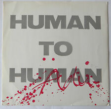 "ADU : Human To Human (12"" Vinyl PS 1985)"