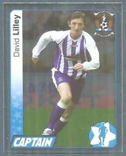 PANINI SCOTTISH PREMIER LEAGUE 2008- #318-KILMARNOCK-DAVID LILLEY-SILVER FOIL