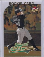 MIGUEL CABRERA ROOKIE CARD 2004 Fleer Ultra GOLD RC Insert Baseball MARLIN TIGER