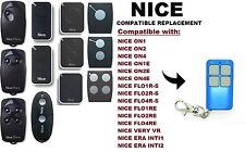NICE flo1r-s, flo2r-s, flo4r-s COMPATIBILE CON TELECOMANDO CODICE VARIABILE.