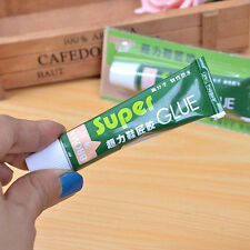 Hot Super Adhesive Glue Shoe Repair Tube Leather Rubber Strong Bond Fast 1PC