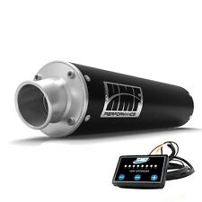 HMF Performance Slip On Exhaust Muffler Black + Optimizer Outlander 850 / XMR
