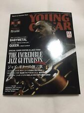 New! YOUNG GUITAR Magazine 2016 NOV. Japan DVD Regioncode2 Robert Marcello