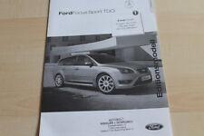 135754) Ford Focus Sport TDCi - Preise & tech. Daten & Ausstattungen - Prospekt