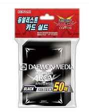 """Yugioh Zexal Duelist Card Sleeves [50PCS] """"ARC-V : Black"""" / KONAMI"""