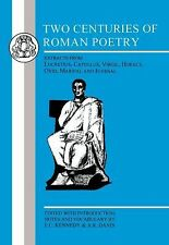 Two Centuries of Roman Poetry  New- Free Shipping