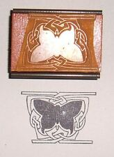 Celtic Knot Butterfly rubber stamp by Amazing Arts