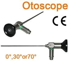 ø2.7x108mm Otoscope 0° Storz Stryker Olympus Wolf Compatible Endoscope
