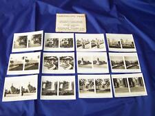 Sunbeam Tours 12 Camerascopic Cards South America (1920s) in Sepia