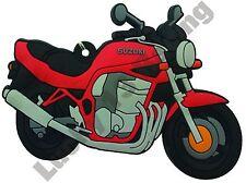 Suzuki Bandit. Goma Llavero Llavero Cadena De Regalo De Ciclo Bici del motor