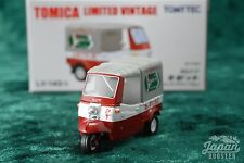 [TOMICA LIMITED VINTAGE LV-143b 1/64] DAIHATSU MIDGET LOTTE CHEWING GUM (Red)