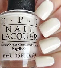OPI '16 Soft Shades Pastel ~IT'S IN THE CLOUDS~ Creamy WHITE Nail Polish Lacquer