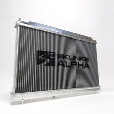 Skunk2 Alpha Dual Core Aluminum Radiator For 06-11 Honda Civic Si FA FG