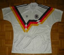 "*Vintage* Deutschland 1990-1992 Adidas ""L"" Shirt Football Jersey Trikot Germany"