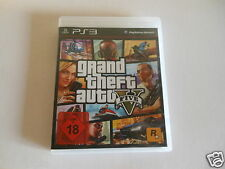Ps3-Grand Theft Auto V-GTA 5 ** PlayStation 3 USK 18