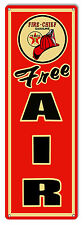 Nostalgic Texaco Free Air Gasoline Sign 6X18