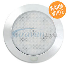 12V Ceiling Light Fixture Warm White LED Caravan Boat Mortorhome Interior Wall