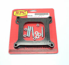 """RPC-R9139 Open Spacer 4150 4160 Holley Carburetor 1/2"""" Phenolic Studs & Gaskets"""