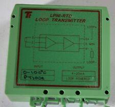 Transtech LPNI-RTD 0-100deg Pt 100 Loop transmitter 4-20ma