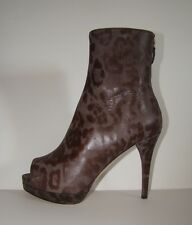 WOMEN'S  OPEN TOE  BOOTIES BY  FURLA, MADE IN ITALY , NEW  EUR. SIZE 40
