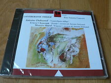 Antoine Duhamel : Contrebasse Oblige - Chausson, Ravel - CD GALLO NEUF SEALED