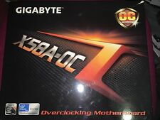 GIGABYTE GA-X58A-OC rev. 1.0, Socket A, Intel Motherboard NO I/O SHIELD