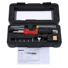 New HS-1115K Auto Ignition Butane Gas Soldering Iron Set Welding Kit Torch P7L2