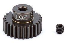Associated 1344 Aluminum Pinion Gear 26T 48P 1/8 shaft SC10 B44 RC10 / T RC12L3