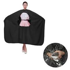 Soft Hair Cutting Cloth Cape Hairdressing Gown View Window Salon Hair Dye Apron