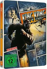 KING KONG (Naomi Watts, Jack Black) Blu-ray Disc, Steelbook NEU+OVP