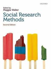 Social Research Methods by Maggie Walter (Paperback, 2009)