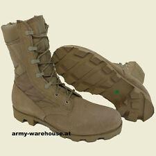 orig. US Desert Boots, Wüstenstiefel, khaki, BH UN Einsatz, Austrian Army, beige