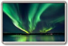 FRIDGE MAGNET - AURORA BOREALIS - Large Jumbo - Northern Lights Water