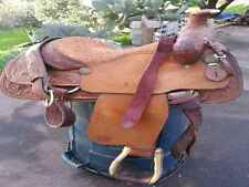 "Circle Y Roping Saddle 15"" seat"