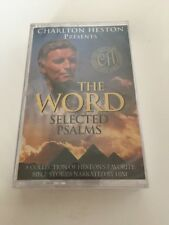 Charlton Heston Presents The Word Selected Psalms Cassette New Sealed Mint