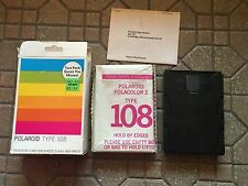 "Vintage 1978 POLOROID TYPE 108 Polacolor 2 Land Film 163 1/4""x4 1/4"" prints"