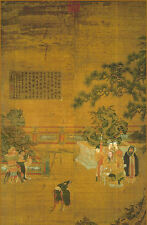 Framed Print - 12th Century Oriental Picture (Poster Chinese Japanese Art)