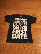 Johnny Cupcakes Bakes On The First Date Large T-shirt