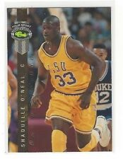 1992 CLASSIC 4 FOUR-SPORT LPS INSERT SHAQUILLE O'NEAL #LP8 - LSU TIGERS