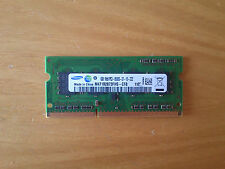 RAM Samsung 1GB PC3-8500S 6400 DDR3-1066 800 SODIMM Notebook Laptop MacBook iMac