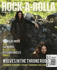 ROCK-A-ROLLA UK Issue 34 Oct/Nov 2011 WOLVES IN THE THRONE ROOM Cathedral AUN