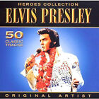 ELVIS PRESLEY ~ 50 CLASSIC TRACKS NEW 2 CD HITS + FROM THE KING OF ROCK N ROLL