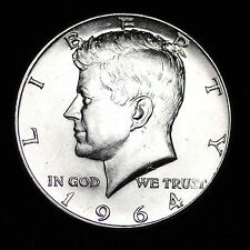 1964-D Kennedy Silver Half Dollar *53 Years Old* Gem Bu
