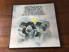 BEETHOVEN Symphony No. 9 & No. 8 Berliner Phil. Karajan 2LP Deutsche 2707 109